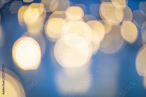 Bokeh background, colorful blurred lights, sparkles
