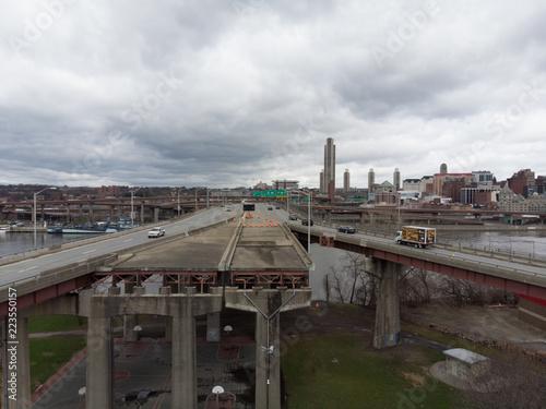 Albany, NY Apocalypse Canvas-taulu
