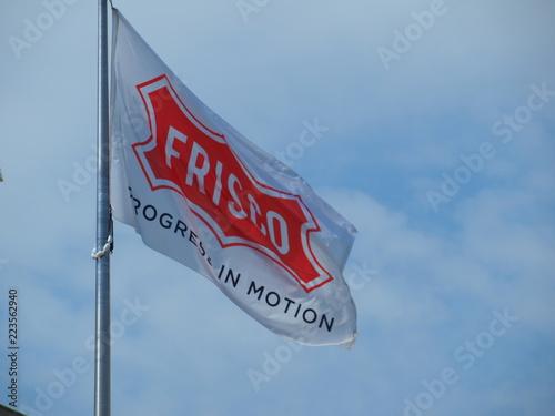 Poster Texas The city flag of Frisco, Texas.