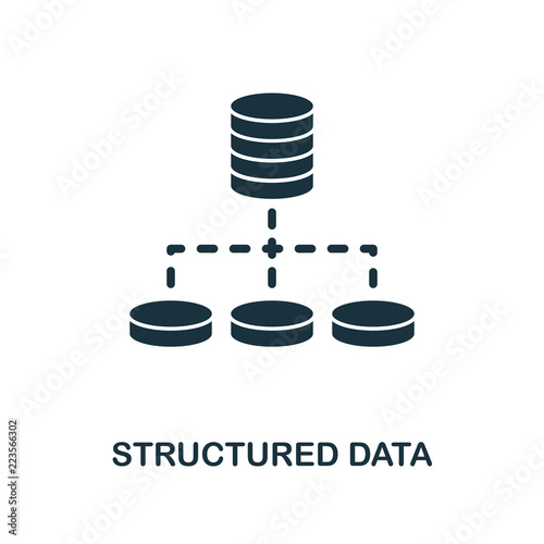 Fotografie, Tablou  Structured Data icon