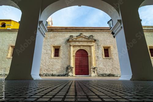 Fotobehang Zuid-Amerika land View of Cartagena de Indias, Colombia