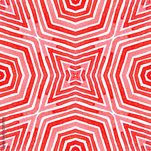 rozowa-czerwona-geometryczna-akwarela