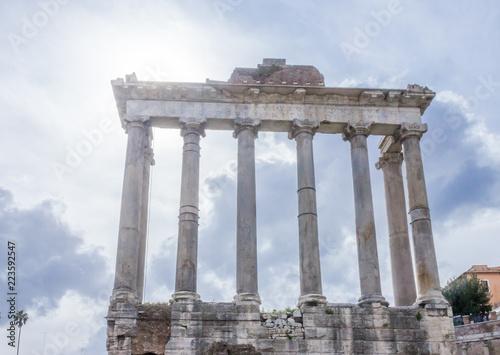 Photo  Saturn Temple