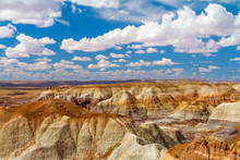 Hills At Petrified Forest Nati...
