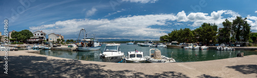 Photo Stands South Africa Marina, island of Krk