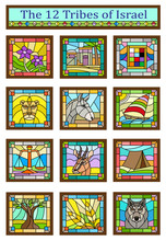 Israel Tribes - Stained Glass ...