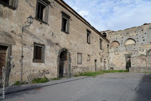 Staande foto Rudnes Ruine in Randazzo, Sizilien