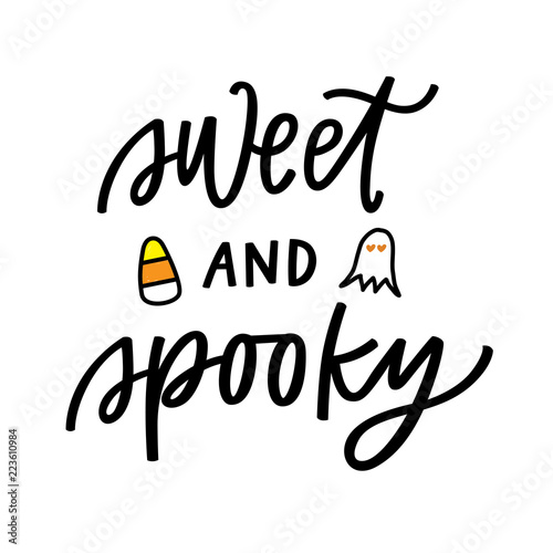 Photo  Sweet and Spooky