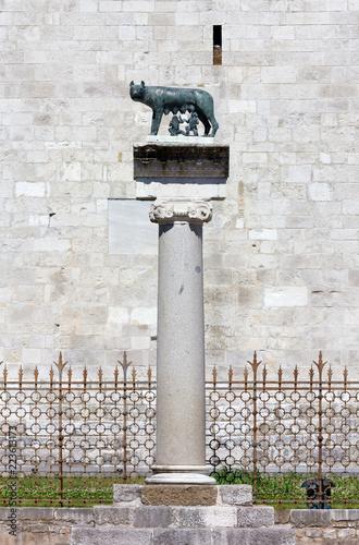 Capitoline She-Wolf in Aquileia, Italy Fototapeta