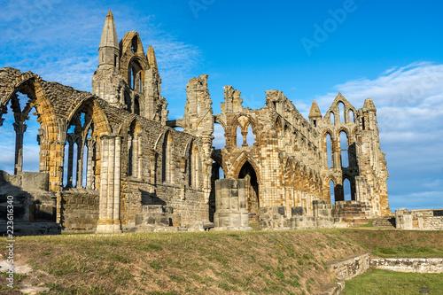 Photo Whitby Abbey North Yorkshire Coast UK
