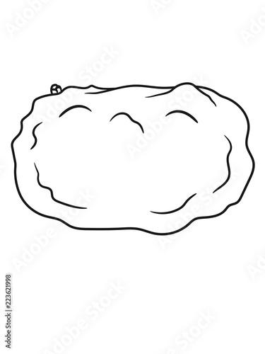 Gemuse Kartoffel Essen Lecker Kochen Kuche Koch Hunger Comic Cartoon