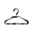 Halftone Icon - Clothes hanger