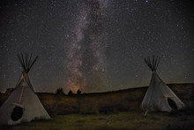 Milky Way Teepees
