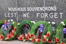Wreaths For Remembrance Day Celebration For Veterans