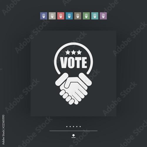 Fotografia, Obraz  Agreement for votes