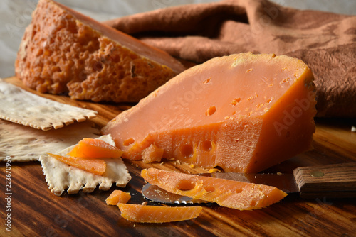 Poster Dairy products Gourmet Mimolette Cheese