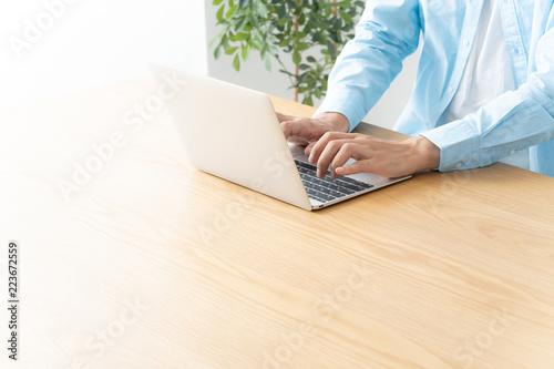Valokuva  男性 ビジネス パソコン