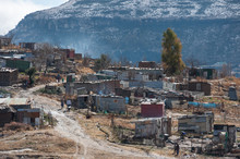 Informal Settlement Snow In Af...