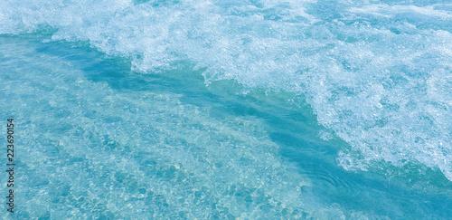 Staande foto Zee / Oceaan ocean Sea water Abstract background