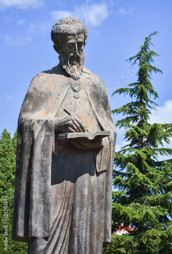 Tuinposter Historisch mon. Naum of Ohrid
