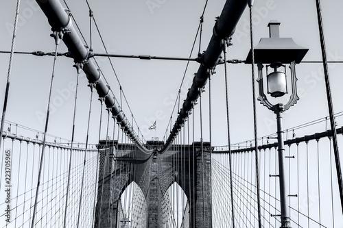 Naklejka premium Nowy Jork Most Brookliński