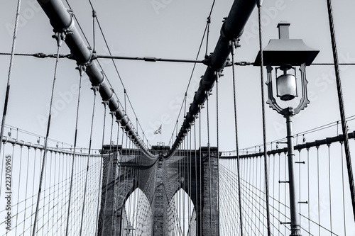 Fototapeta premium Nowy Jork Most Brookliński