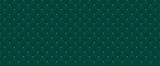 Dark green color. Deep emerald seamless pattern for premium royal party. Luxury template with vintage leather texture wallpaper. Background for invitation card. Festive traditional christmas backdrop
