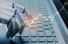 Robot Business Concept Market ...