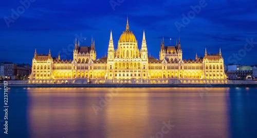 Fotobehang Boedapest Budapest at night