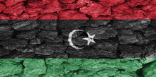 The Texture Of The Flag Libya ...