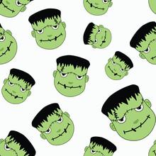 Fun Frankenstein Halloween Pat...