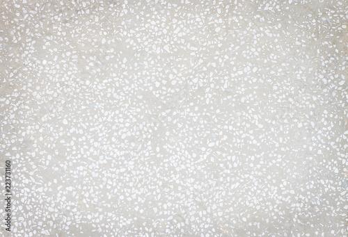 Texture White And Gray Terrazzo Floor Seamless Small Rock