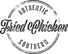 Southern Fried Chicken Restaurant Menu Sign