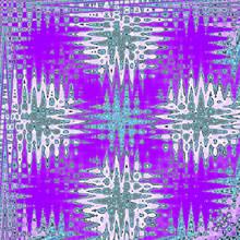Zigzag Kaleidoscope Pattern In...
