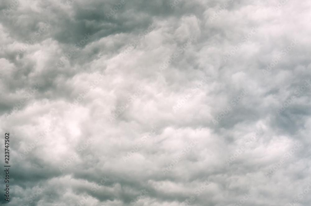 Fototapeta stormy clouds texture