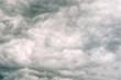 Leinwandbild Motiv stormy clouds texture