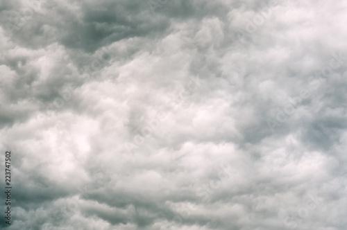 Fotografía stormy clouds texture