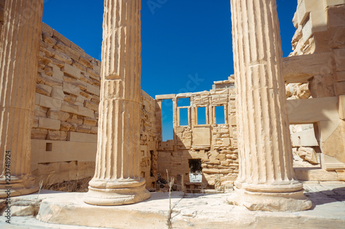 Fototapety, obrazy: ruins of the Greek Acropolis