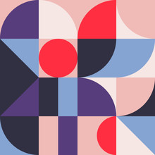 Abstract Geometry Pattern Graphic 07
