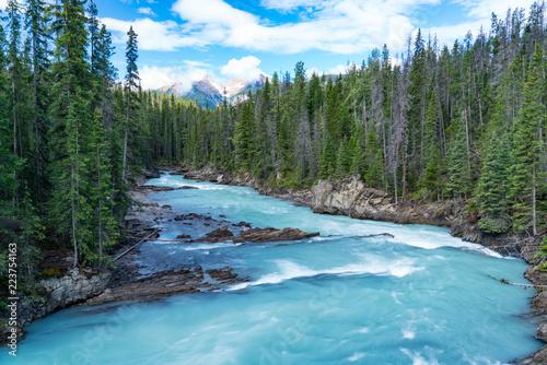 Valokuva  Glacier River in Yoho National Park, Canada