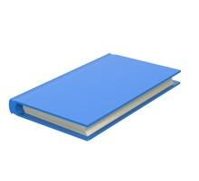 Blue Book 3D Rendering