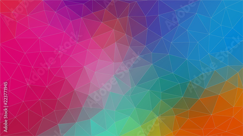 Multicolor triangle abstrat background.. Eps10 vector.