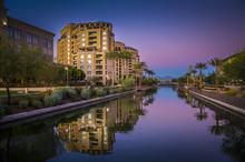Scottsdale Waterfront, Arizona...