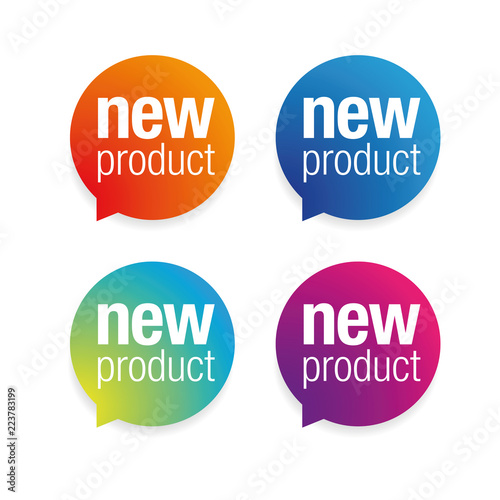 New Product label tag Wall mural