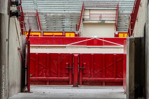 Arena in Pamplona, Spanien, Baskenland