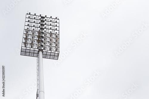 Foto op Canvas Licht, schaduw Spotlight in the stadium