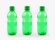 Small green water bottle