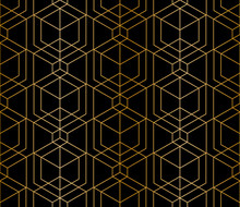 Abstract Seamless Geometric Pattern. Thin Line Texture, Monochrome Triangular Grid. Seamless Linear Rapport. Vector Pattern To Fill The Background, Laser Engraving And Cutting.