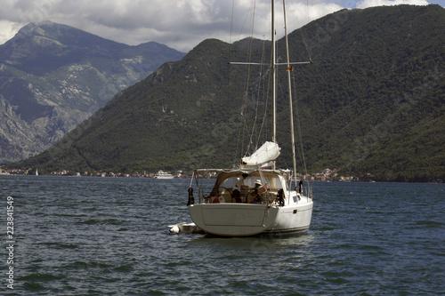Photo Stands Caribbean Boka Kotorska bay