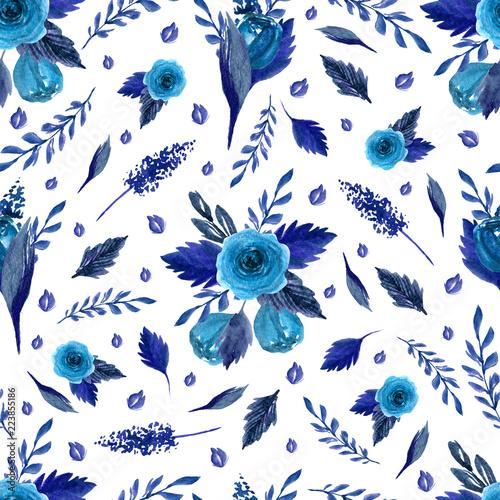 wzor-z-kwiatow-lisci-galezi-akwarela-wyciagnac-reke